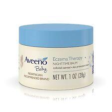 Aveeno Baby Eczema Therapy Night Time Balm 11 Ounce Jar 325ml