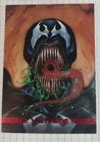1993 SkyBox Marvel Masterpieces Venom Card Marvel Group