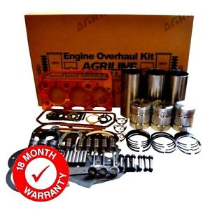 ENGINE OVERHAUL KIT FOR MASSEY FERGUSON 35 TRACTOR PERKINS A3.152 ENGINE.
