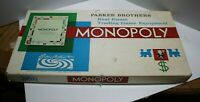 Vintage Parker Brothers Monopoly game 1961 Board game