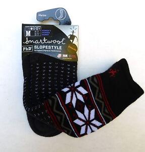 New Women`s SmartWool PhD Slopestyle Medium Wenke Socks Merino Wool Over Calf