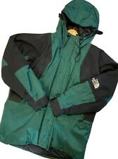 Vintage NORTH FACE Mountain Jacket Parka Heavy Gore-tex Green Size XL