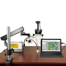 Omax 2X-270X Usb3 5Mp Simul-focal Zoom Microscope+Articulating Arm+150W Light