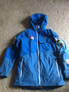 Official U.S. Ski Team Columbia Jacket Men's Medium