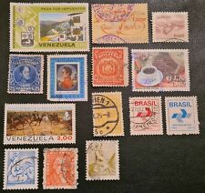 DUZIK: South America Used Mixed Condition Stamps Collection (No.171)