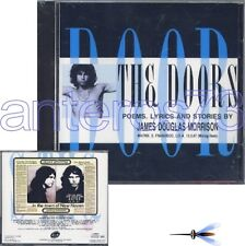 "THE DOORS ""POEMS, LYRICS AND STORIES"" RARE CD ITALY - SEALED"