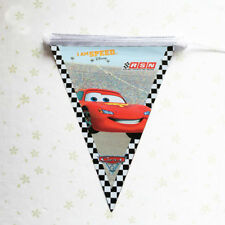 1pcs Cars Party Banner Bunting Theme Party Flag Decoration Banner Bunting