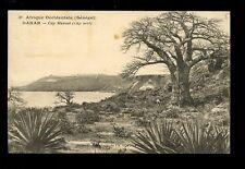 Africa France Cols Afrique Occidentale Senegal DAKAR Cap Manuel 1929 PPC