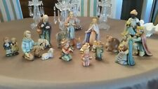 New Listing Hummel Goebel 17 Pc Christmas Nativity Set #214 large perfect condition