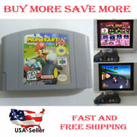 Mario Kart 64 Video Game Card For N64 Cartridge Console Card US Version