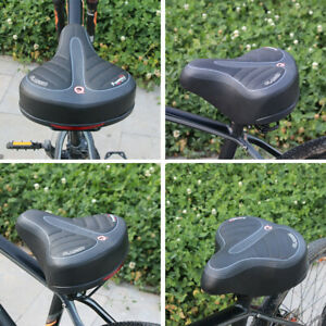 Professional Gel Mountain Bike Saddle with Central Breathable Zone for Road Bike Riding Bike Men/& Women Comfortable Waterproof Bicycle Seat FOUR UNCLES Bike Seat