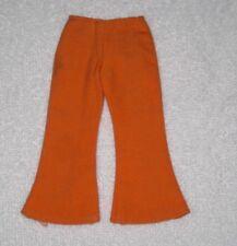 """Vintage Barbie Skipper """"Rolla Scoot"""" Orange Pants Bell Bottoms"""