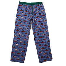 Matilda Jane Pants Size XL Mens Nodding Off PJ Pajama Sleep Christmas Tree Cars