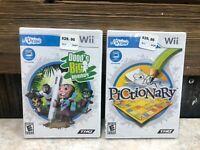 Dood's Big Adventure, Udraw Pictionary Nintendo Wii Video Game Lot - BRAND NEW