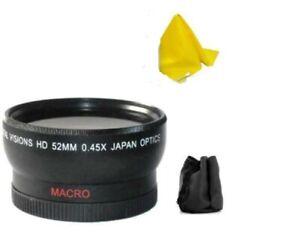 Bower Wide Angle Lens for Sony HDR-PJ710V CX760V HDR-PJ760V HDR-PJ790V FDR-AX33