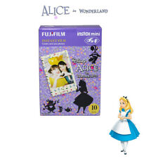 Fujifilm Instax Mini Disney Alice 10 Sheets Film - Fuji 8 9 90 Photo Camera SP2