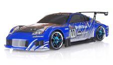Exceed RC Drift Car Radio 1/10 Scale DRIFTSTAR RC Drift Car 350Z CARBON BLUE