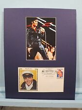 Elvis Presley in concert & Commemorative Cover honoring Elvis Presley