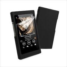 Tuff Luv Sony NW-A35/A36/A37 Silicone Étui & Écran Protection - Noir