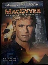 MacGyver Dvd Season 5 - Richard Dean - New & Sealed