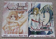 lot 2 ANGEL SANCTUARY softcover BOOKS by KAORI YUKI volumes