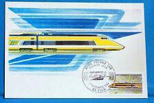 RAME Postale TGV FRANCE CPA Carte Postale Maximum Yt 2334 C