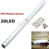 20 LED Wireless PIR Motion Sensor Drawer Light Closet Lamp Cabinet Night Light