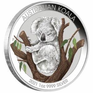 2021 Australian Koala 1oz Silver Coin -Brisbane ANDA Special