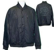 NEW NIKE SPORTSWEAR NSW Mens Vintage Varsity Bomber Jacket Black M