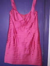 BCBG MAXAZRIA PINK DRESS SIZE 12..LADIES
