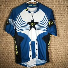 Men's Pearl Izumi Select Cycling Jersey Men's Medium Excellent Condition Stars