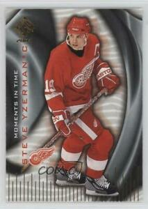 2003-04 Pacific Private Stock Reserve Moments in Time Steve Yzerman #8 HOF