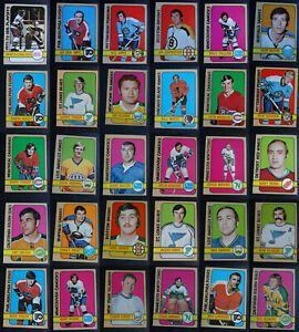 1972-73 Topps Hockey Cards Complete Your Set You U Pick From List 1-176