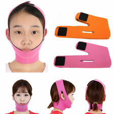 Facial Thin Face Slimming Bandage Mask Belt Shape V Lift Reduce Double Chin