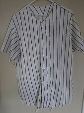 1990's Game Used Pinstriped Baseball Uniform Jersey & Pants Mens Large by Wilson