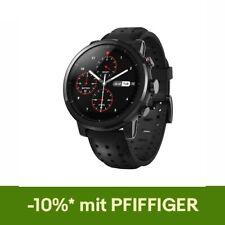 Amazfit Stratos Pace 2 Smart Uhr Echtes Leder Strap Geschenk Box Sapphire