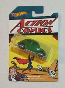 Custom HW hot wheels Action Comics #1 Superman VW beetle, 1:64
