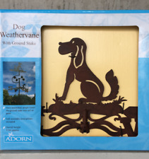 Adorn Dog Weathervane With Ground Stake Approx 1.5m Tall
