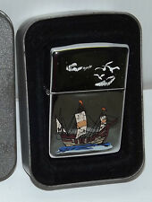 Zippo Accendino Lighter Originale Caravella 3 Vele 1996 Collezione Colombo Box