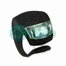 New KLoLLo Bike Cycling Frog LED Front Head Rear Light Waterproof Lamp Black