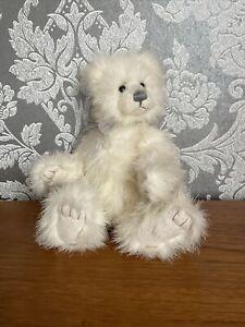 White Charlie Bear