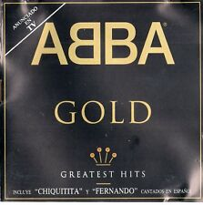 "ABBA ""GOLD - GREATEST HITS"" ULTRA RARE SPANISH CD / FALTSKOG ALVAEUS"