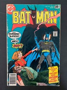 BATMAN #301  DC COMICS 1978 VG+ NEWSSTAND