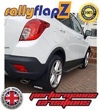 rallyflapz Opel Mokka X (2016 PARAFANGHI KIT & finiture nero 4mm PVC LOGO W