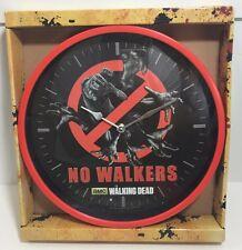 The Walking Dead Decorative Wall Clock No Walkers