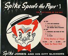 "Vintage Store Sign: Spike Jones & City Slickers - ""Spike Spoofs The Pops # 1"""