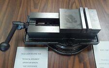 """4 ANG-LOCK MILLING MACHINE VISE w. swivel base #850-400-- NEW"