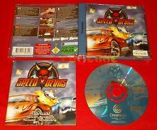 SPEED DEVILS Sega Dreamcast Dc Versione Europea PAL - COMPLETO - EQ