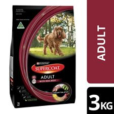 Supercoat Real Beef Dry Dog Food 3Kg