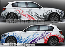 BMW Rally 001 FANGO SPLATTER Grunge Da Corsa Decalcomanie Adesivi Grafica in Vinile